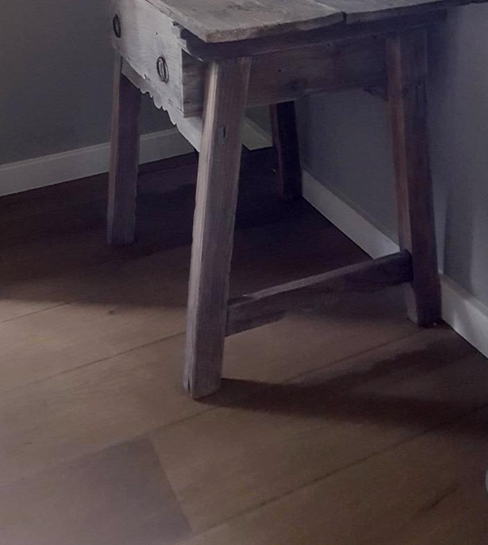 Foto 4 project verouderde houten vloer, Bouten Parket