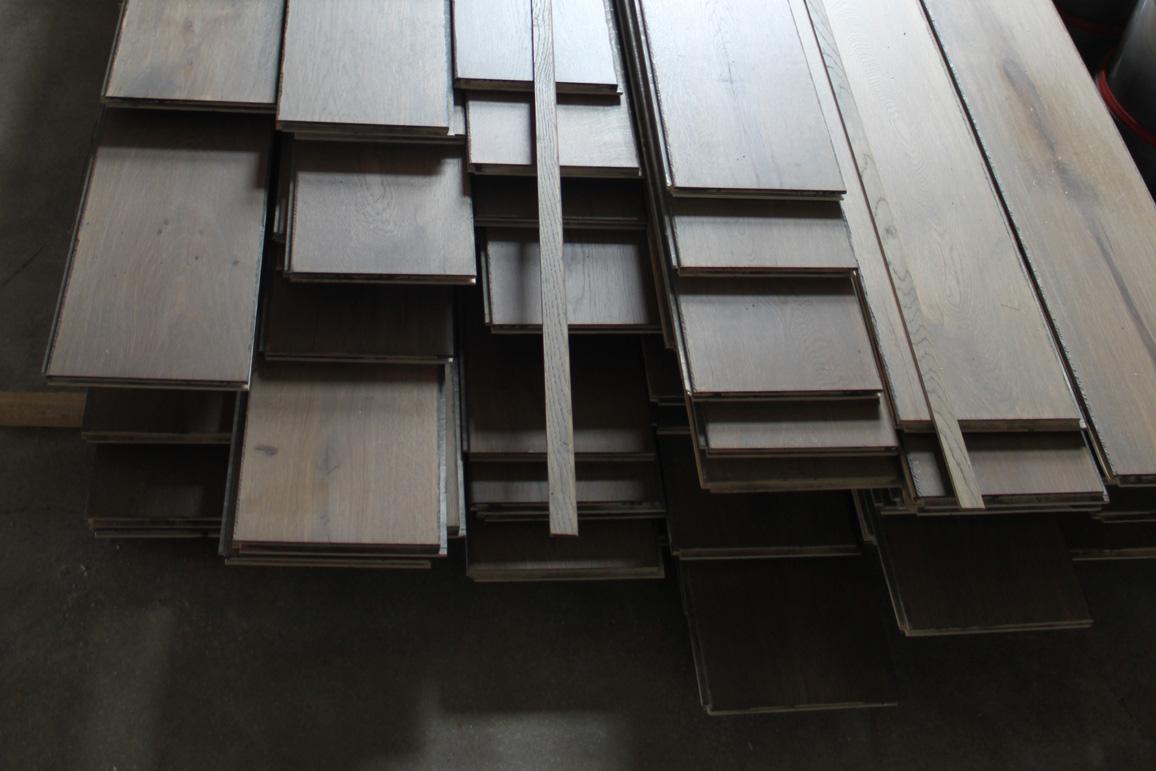 Projectfoto 9, verouderde houten vloer | Bouten Parket