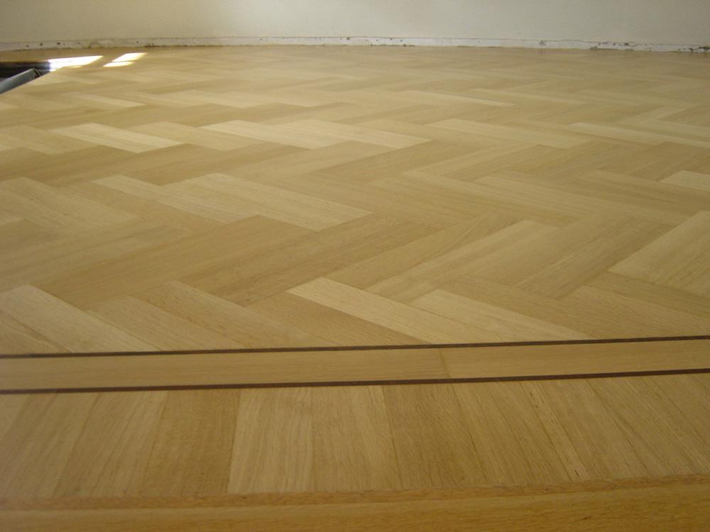 Projectfoto 1, renovatie visgraat vloer