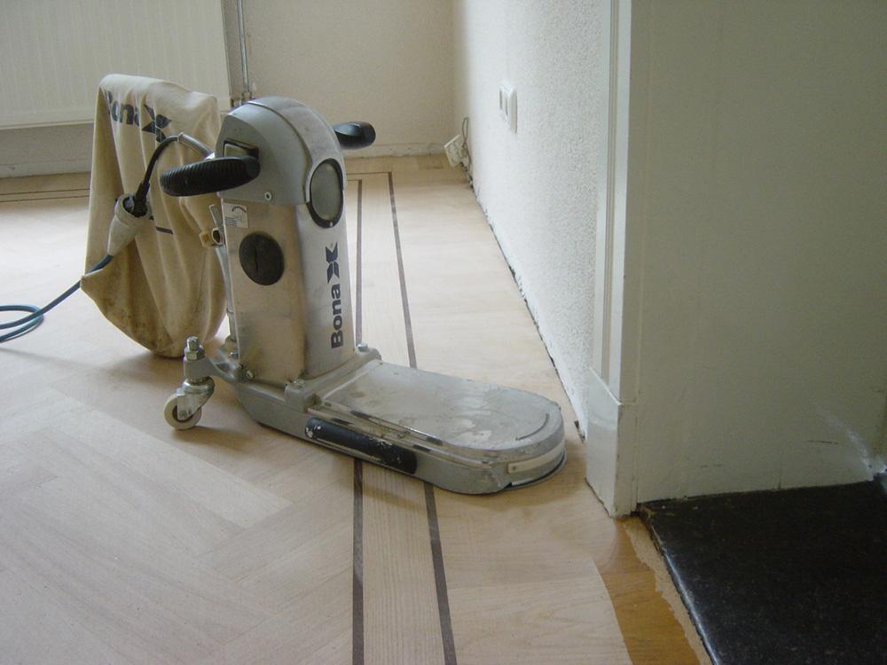 Projectfoto 4, renovatie visgraat vloer